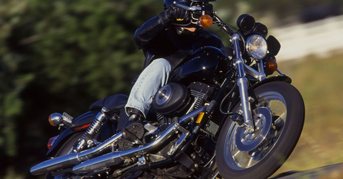 1999. Harley-Davidson FXDX Super Glide Sport Riding Impression