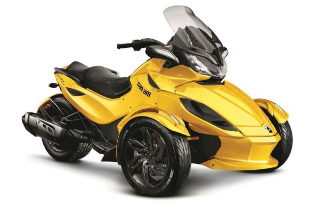 Can-Am Spyder-test i 2008