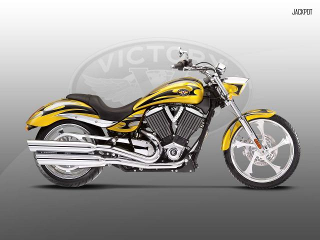 Anteprima line-up Victory Motorcycles 2010