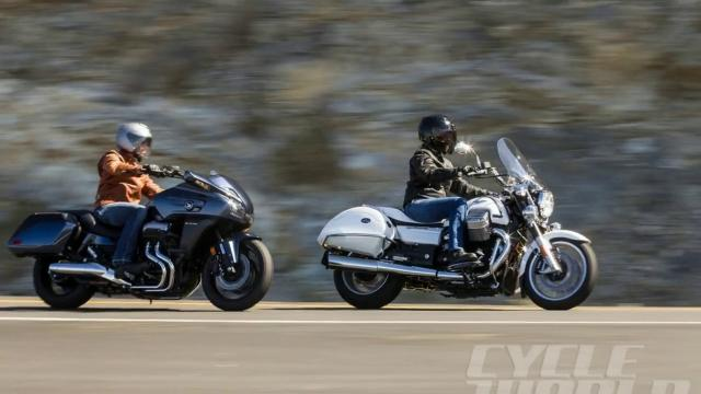 Honda CTX1300 Deluxe vs. Moto Guzzi California 1400 Touring - Test de comparație